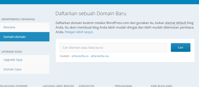 memindah wordpress1