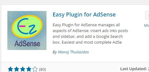 easy adsense
