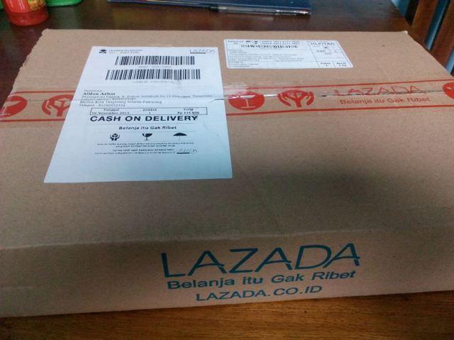 beli barang di Lazada